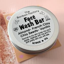 Almond and Clay Facial Bar