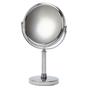 Melric Chrome Pedestal Mirror