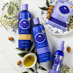 Blue Chamomile & Argan Oil Blonde Care Shampoo