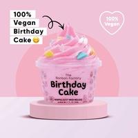 Birthday Cake Body Wash Mousse