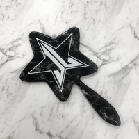 Marble Star Mirror - Black