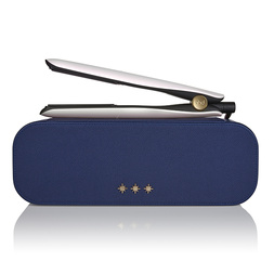 gold® hair straightener in iridescent white
