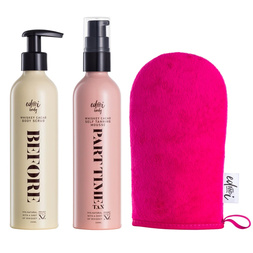 Before + Part-Time Tan Gift Box