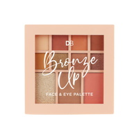 Bronze Up Face & Eye Palette