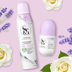 Anti-Perspirant Spray - Rose & Lavender