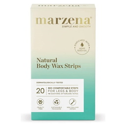 Natural Body Wax Strips