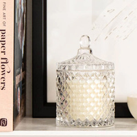 French Glass Jar Candle - Vanilla Bean