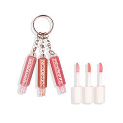 Lip Gloss Trio 3-in-1 Key Ring - Lacquer