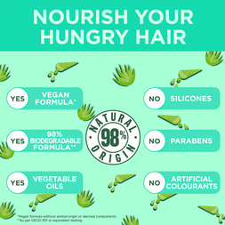 Fructis Hair Food Hydrating Aloe Vera for Normal to Dry Hair