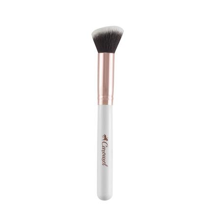 Carousel Cosmetics Rose Gold Angled Buffer Brush