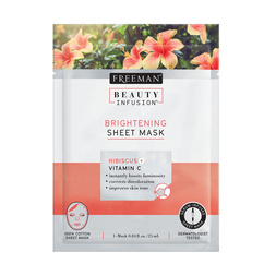 Beauty Infusion Sheet Masks - Hibiscus - Brightening