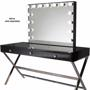 Glamour Makeup Mirrors Vanity Makeup Table - Black
