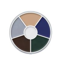 Cream Color Circle - Zombie