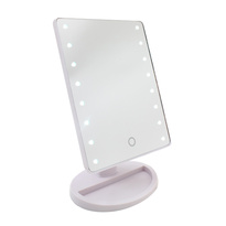 LED Make Up Mirror - White