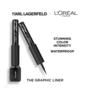 L'Oréal Paris Karl Lagerfeld x L'Oréal Paris Matte Eyeliner - 11 Rock Blue Black